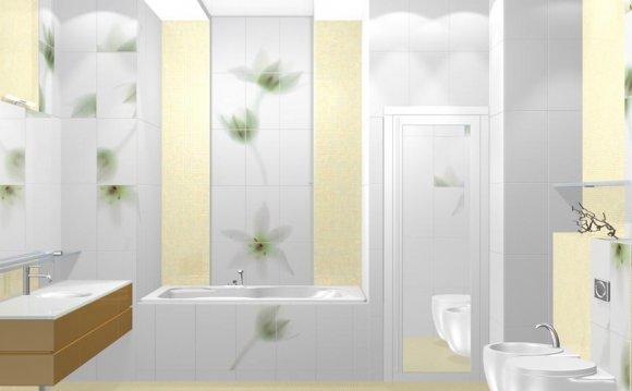 Плитка для ванной комнаты: