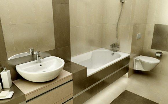 Маленькая ванная, пример
