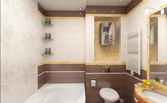 Дизайн простой ванны