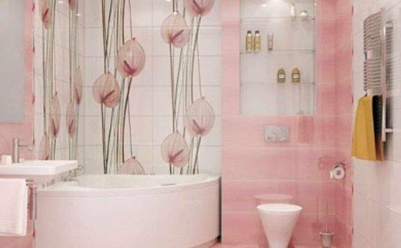 Оформление плиткой ванную