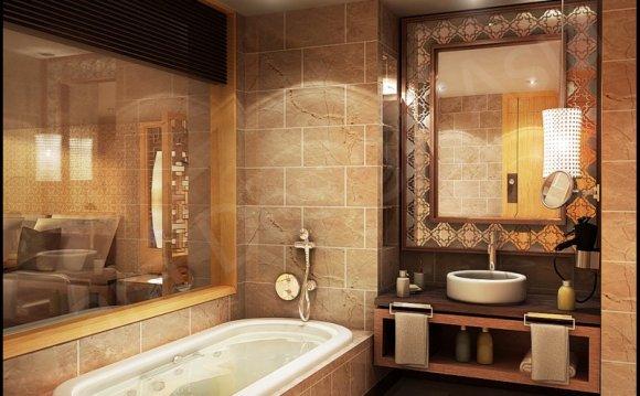 интерьер маленьких ванн