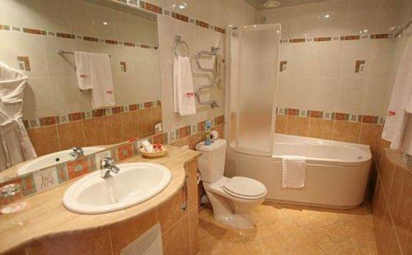 интерьер ванной комнаты и
