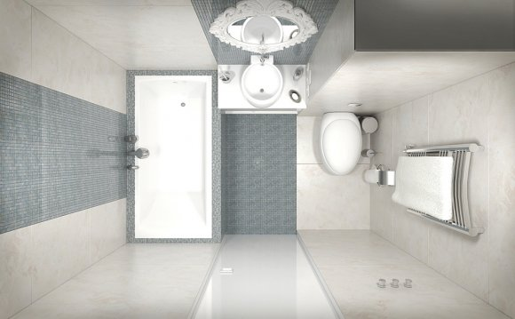 Площадь ванной комнаты