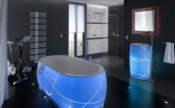 Акриловая ванна с подсветкой
