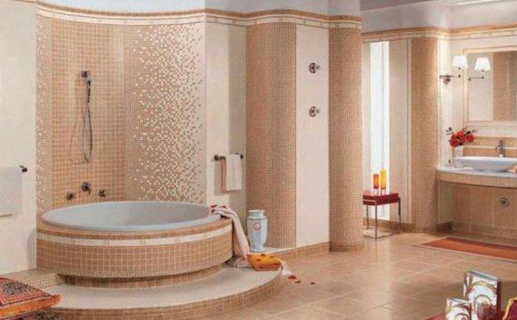 Красивая плитка в ванной