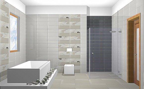 Красивая ванная комната в