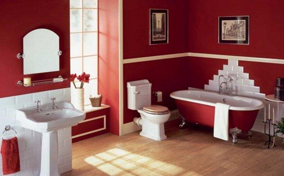 На фото красивые ванные