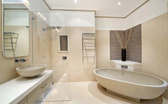 Ремонт ванной и санузла фото