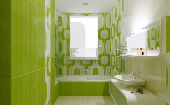 цвет плитки в ванную