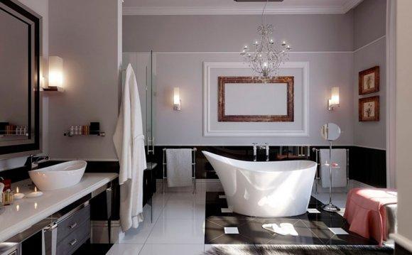Дизайнерское оформление ванной