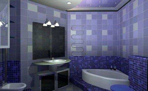 Отделка ванной комнаты в