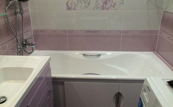 Ремонт ванных комнат и