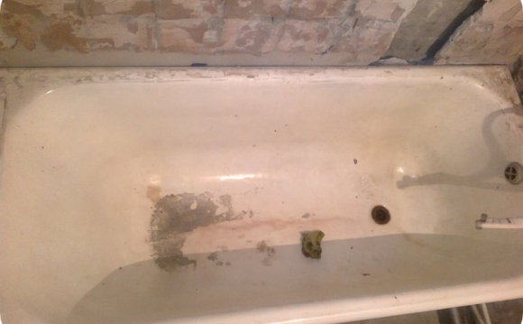 Реставрация ванн, наливная
