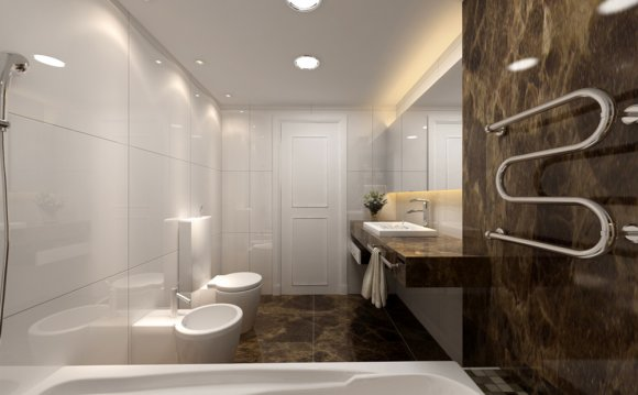 Современные интерьеры ванных