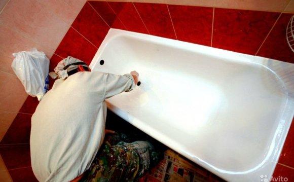 Эмалирование ванны и раковины