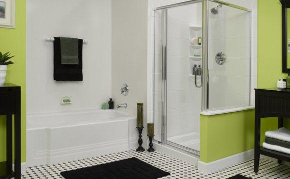 Дизайн ванных комнат с душевой